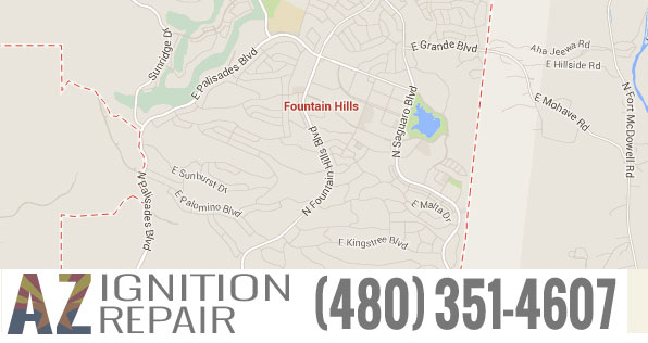 Fountain-Hills-Map-image-AZ-Ignition-Repair