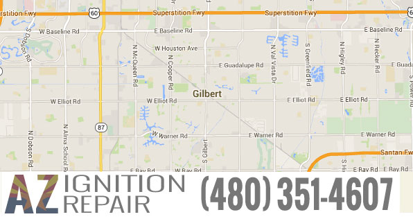 Gilbert-AZ-Map-pic-AZ-Ignition-Repair